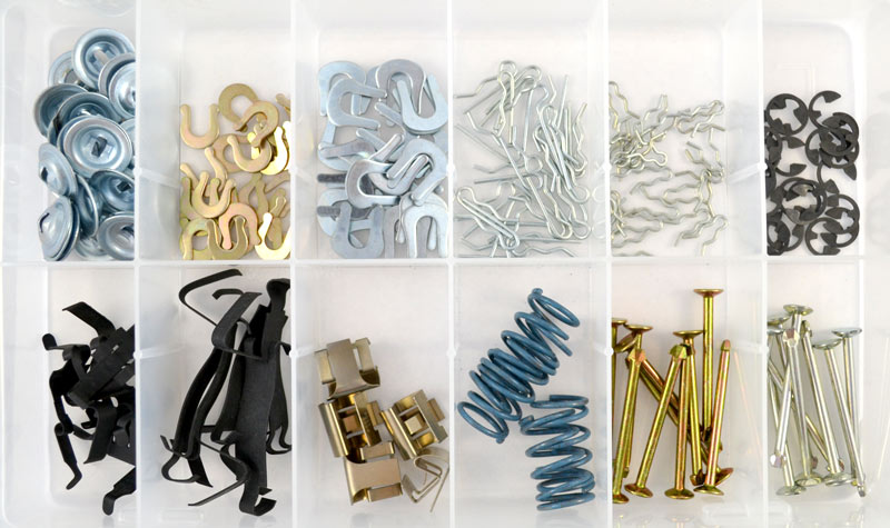 BPA349 | Brake Hardware Assortment (190 Pcs)