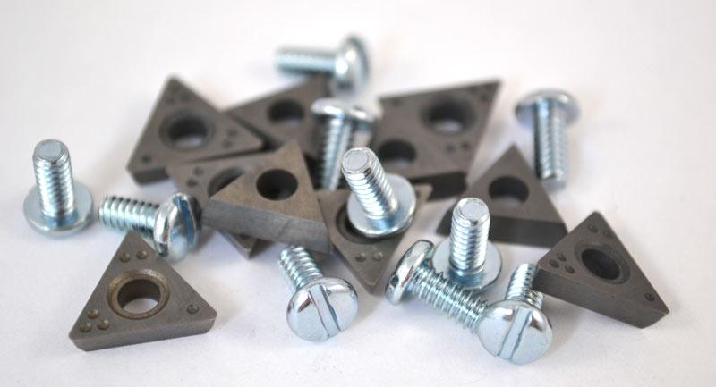10 Kits Positive Rake Carbide Brake Lathe Bit for FMC John Bean Hoffman CB90488