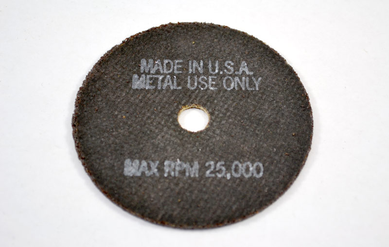 "The Main Resource CW1-50 Cut Off Wheel 3/"" x 1//16/"" x 3//8/"" USA Made"