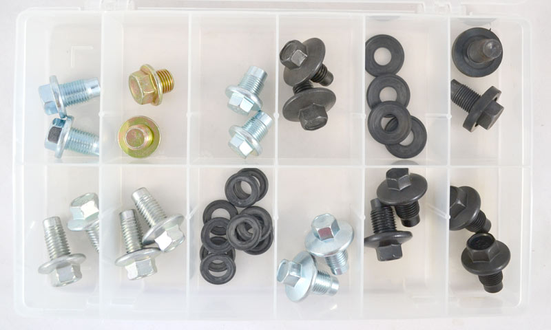 DP750 : Large O.E. Style Drain Plug Assortment (32 Pcs)