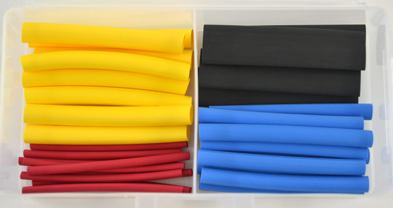 OPK32 : Heat Shrink Tubing Thin Wall Assortment (32 Pcs)