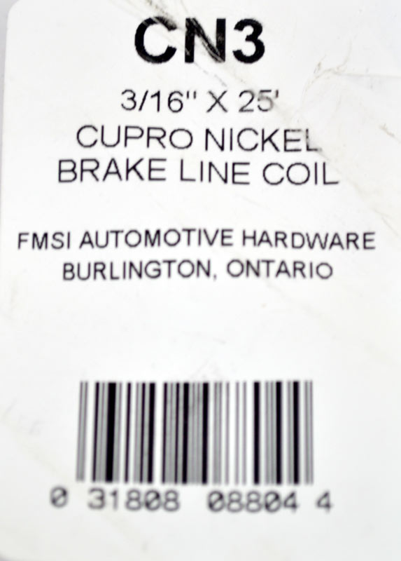 FMSI Automotive Hardware BLC625 3//8 x 25 Standard Zinc Brake Line Coil