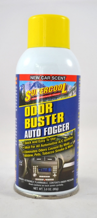 14378 | Odor Buster Auto Fogger - New Car Scent