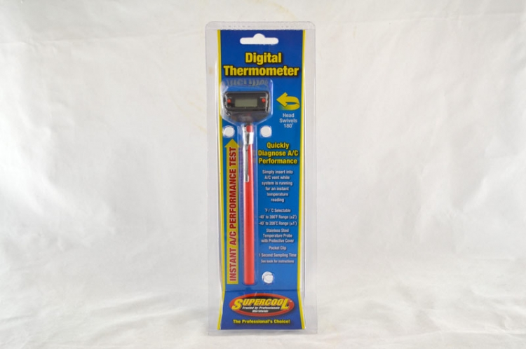 Digital Pocket Thermometer with Swivel head C/F