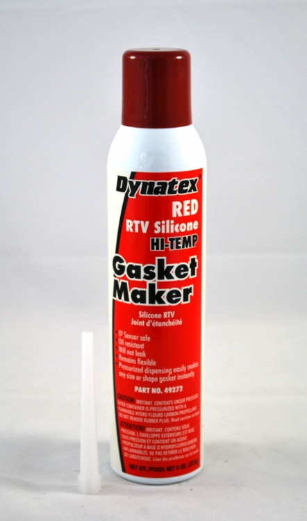 49272 | Red RTV Silicone Gasket Maker 8 oz. (227g) Automatic Can