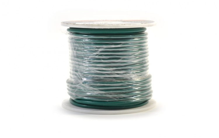 752445 | Green 14 gauge wire 100 ft. spool