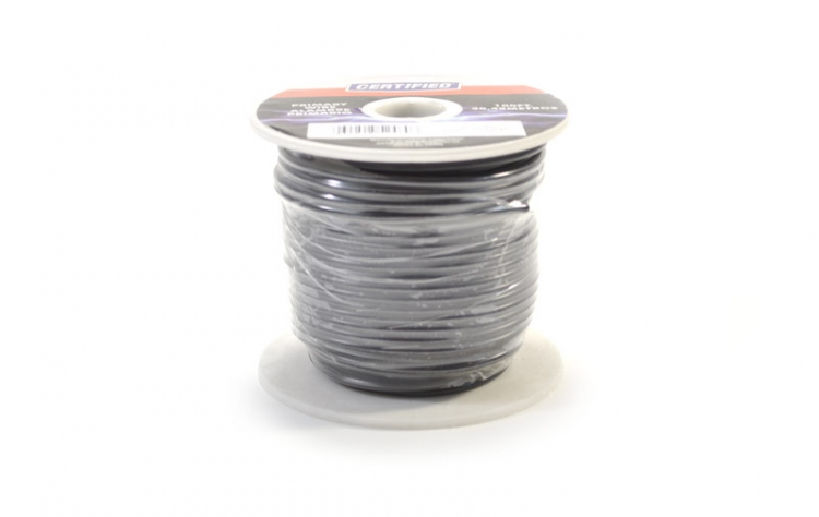 752460 | Black 16 gauge wire 100 ft. spool