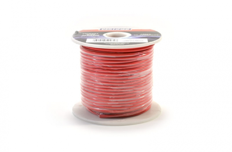 752462 | Red 16 gauge wire 100 ft. spool