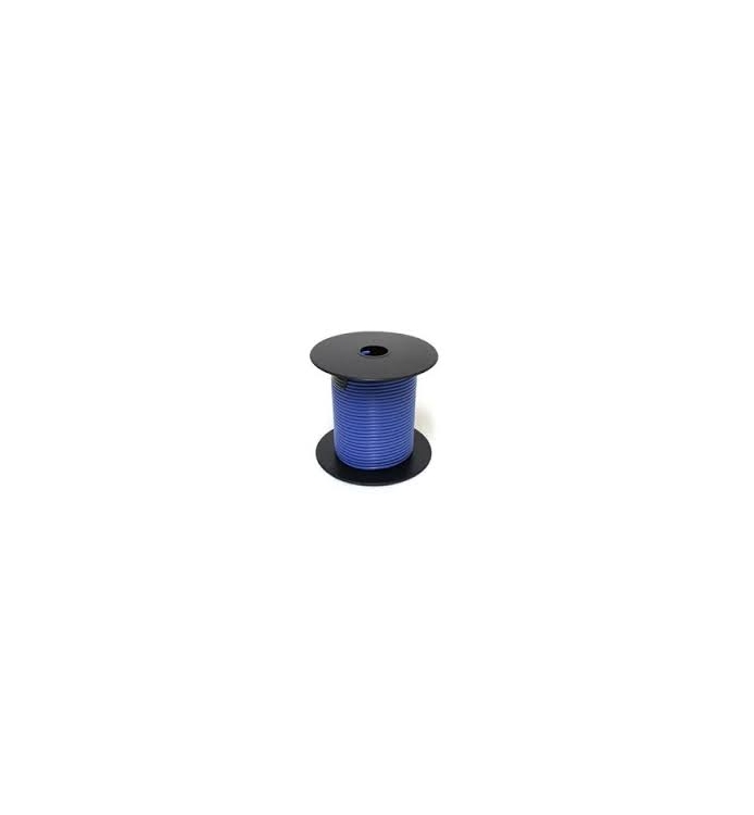 75-2466 | Blue 16 gauge wire 100 ft. spool