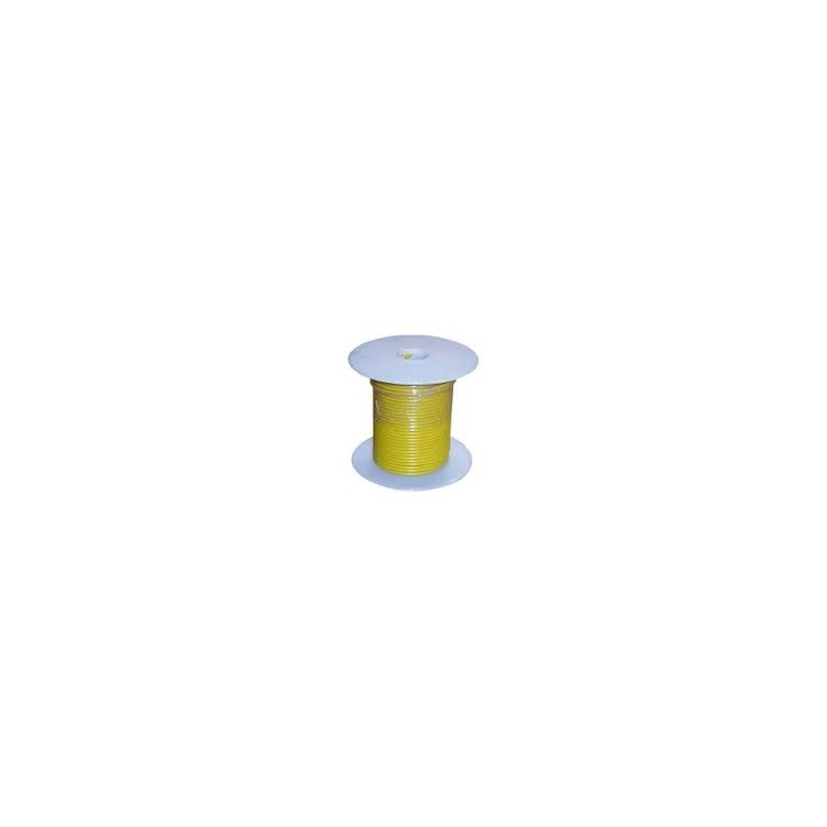 752467 | Yellow 16 gauge wire 100 ft. spool