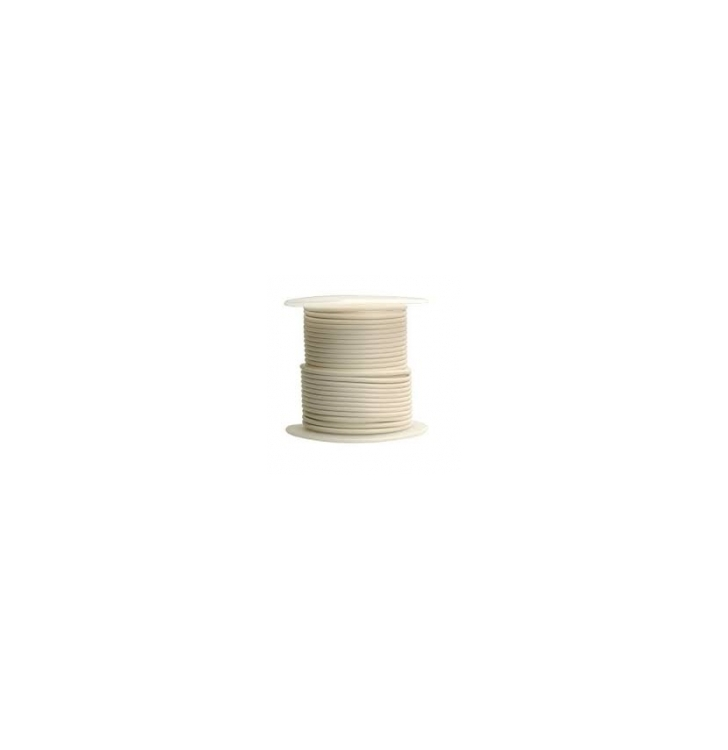 752469 | White 16 gauge wire 100 ft. spool