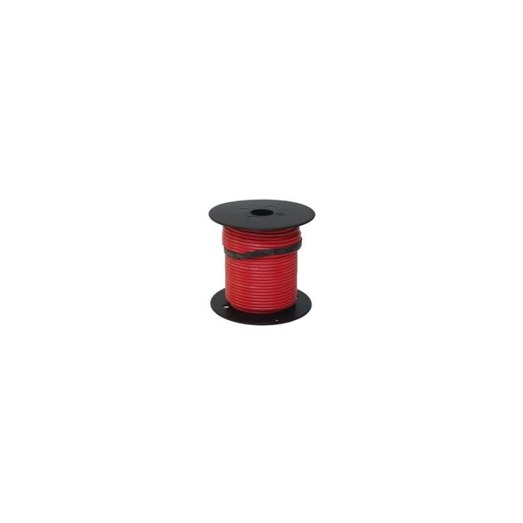 752482 | Red 18 gauge wire 100 ft. spool