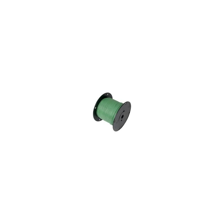 752485 | Green 18 gauge wire 100 ft. spool