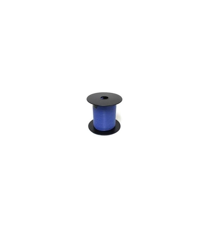 752486 | Blue 18 gauge wire 100 ft. spool