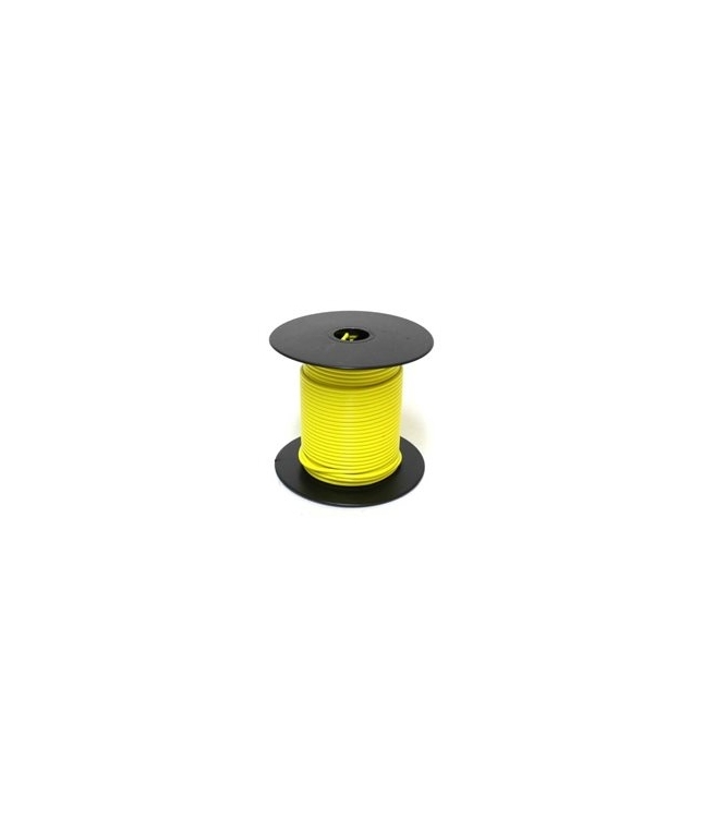 752487 | Yellow 18 gauge wire 100 ft. spool