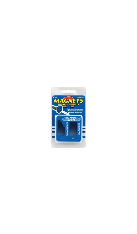 7524 | Magnetizer/Demagnetizer with separate areas for magnetizing and demagnetizing.