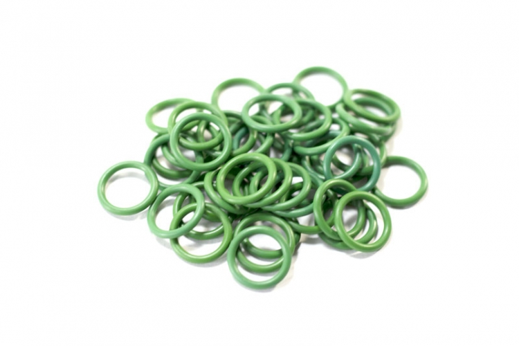 "Green #8 GM Dual Fitting O-Ring 1/2"" (100 count)"
