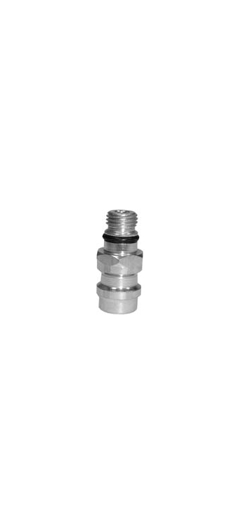 AC146 | GM 2 Piece High Side Service Port Aluminum Adapter With Core