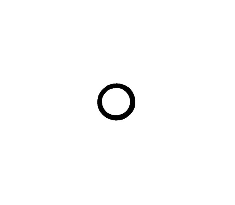 Green Nippondenso TV10CA Carbon Seal O-Ring (100 count)