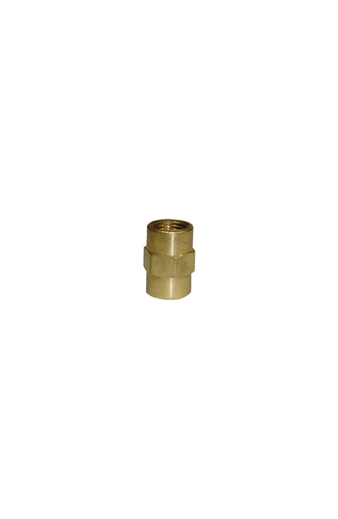 "BF15 | 1/8"" Pipe Thread Coupling Brass Fitting"