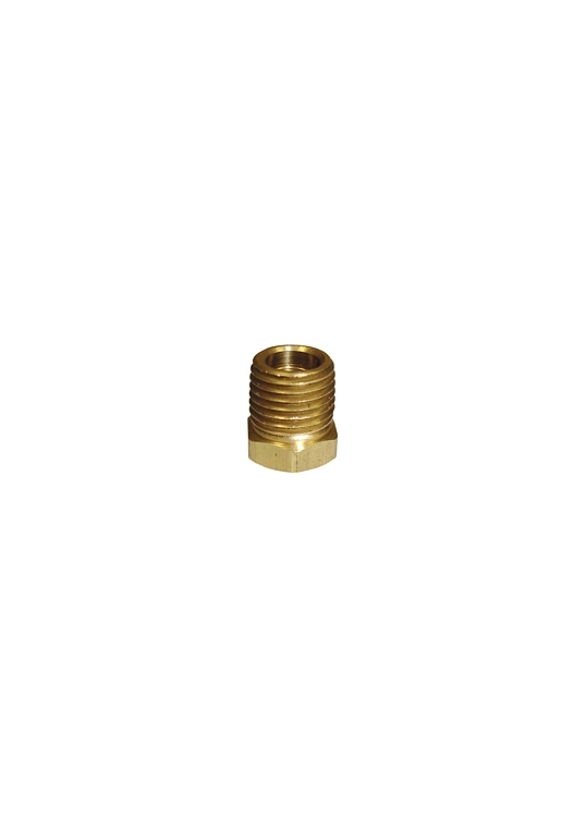 "BF5 | 1/4"" x 1/8"" Pipe Thread Bushing Brass Fitting"