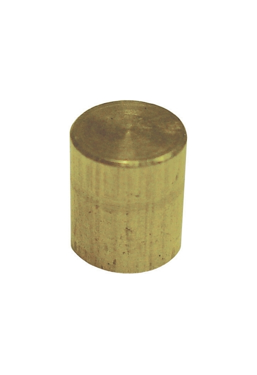"Brass Plug Approximately 1/4"" Diameter"