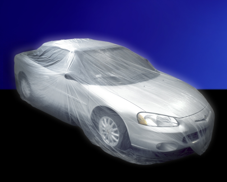 Plastic Car Cover (30 per pack)