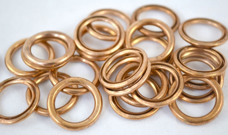 Crushable Copper Gasket 12mm (100 count)