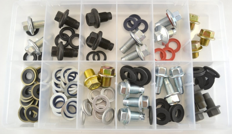 DP600 | Metric Drain Plug Assortment (10 Pcs)