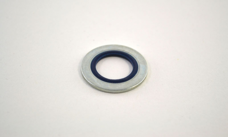 DP7409 | Metal And Rubber Ford Gasket 14mm (Blue) O.E. #F3DZ-6734A