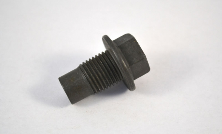 "DP7715 | Drain Plug 1/2"" - 20 Dog Point Plain Finish"
