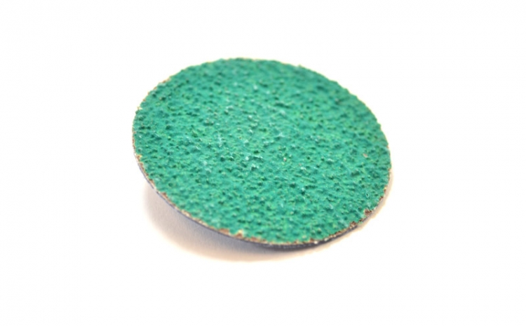 "2"" Green Zirconia Disc - 36 Grit  (50 count)"