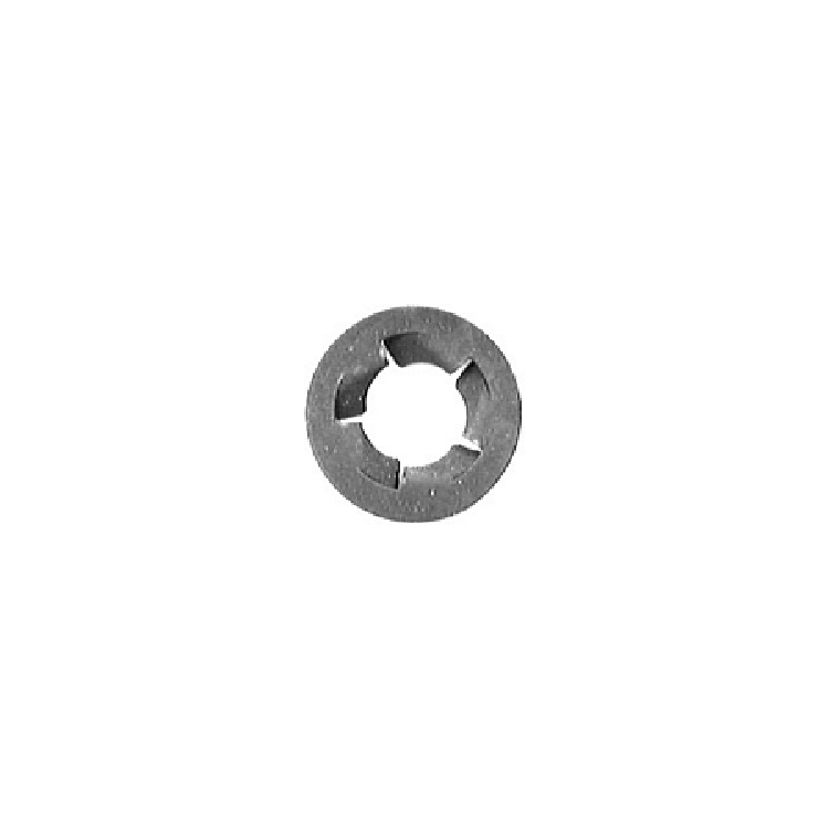 MI691 | Dacromet Finish Push On Type Bumper Strip Retainer 8 - 1.25mm Bolt Size, 24mm Flange