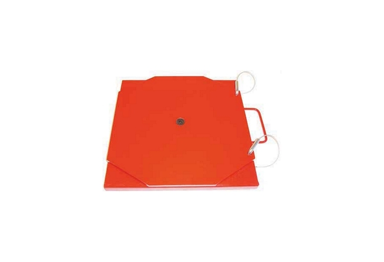 Powder Coated Mild Steel Turn Plate Set Without Pointer