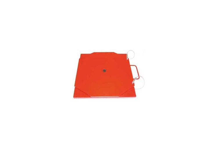 Heavy Duty Powder Coated Mild Steel Turn Plate Set Without Pointer
