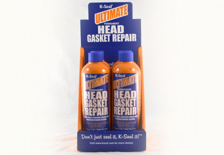 K-Seal ULTIMATE Head Gasket Leak Repair (Box of 4)