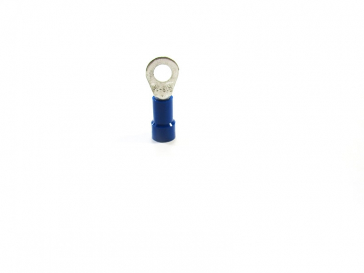 STB8  #8 Blue Ring Vinyl Insulated (16-14)