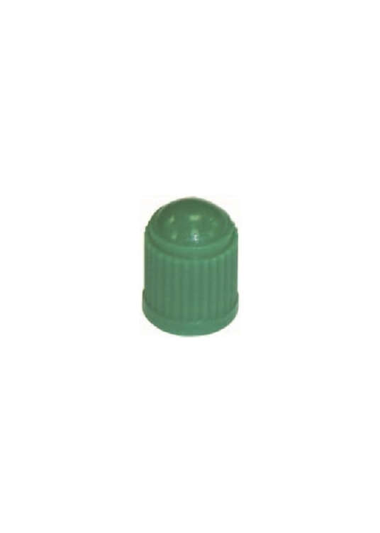 TI117 | Green Plastic Cap With Seal, 100 per box