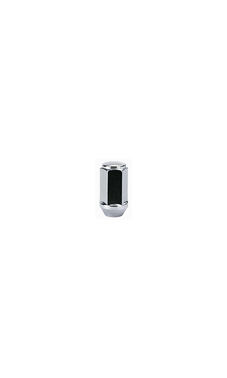 "TI151 | Long Bulge Style Acorn Chrome Lug Nut Thread Size 1/2"" Hex 13/16"" Height 1.75"""