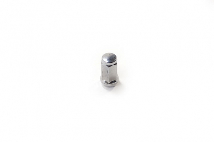 "TI164 | Long Bulge Style Acorn Chrome Lug Nut Thread Size 9/16"" - 18"" Hex 3/4"" Height 1.75"""