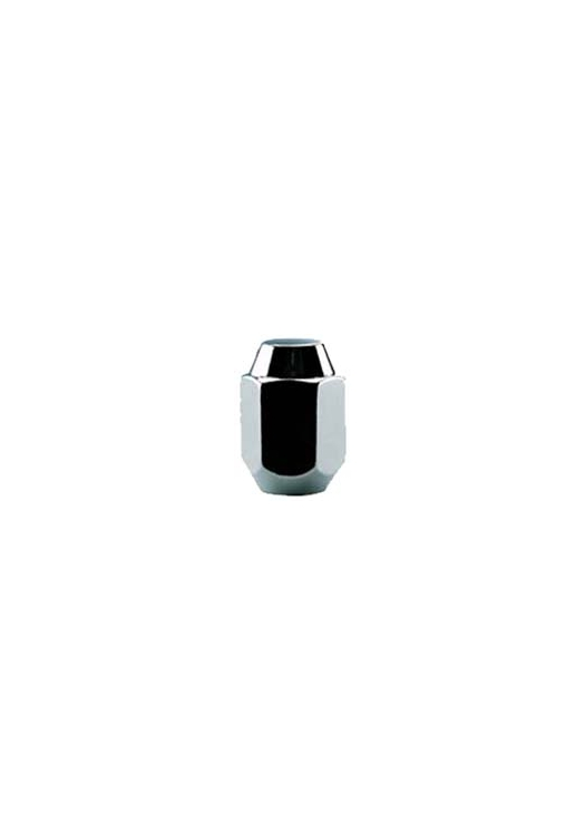 "TI300 | 1-Piece Acorn Chrome Lug Nut, Thread Size 1/4"", Hex 13/16"", Height 1.43"""