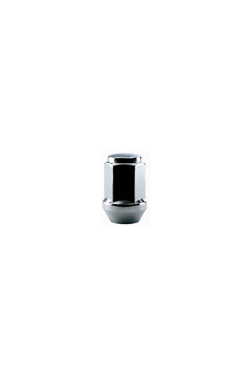 "TI310 | Bulge Style Acorn Chrome Lug Nut, Thread Size 12mm - 1.50, Hex 3/4"",   Height 1.01"""